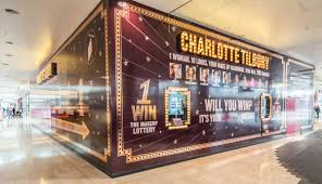 interactive hoarding installed in westfield london for charlotte