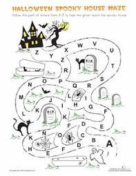 free online printable kids games halloween maze maze