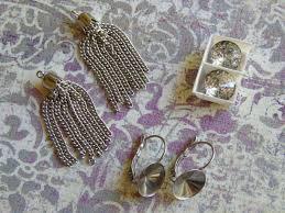 earrings and things how to make leverback earrings featuring swarovski rivoli