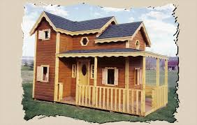 Wooden Backyard Playhouse Country Cottage Wooden Playhouse