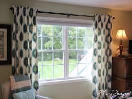 How To Hang Draperies Diy By Design How To Make Lined Pinch Pleat Drapes