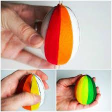 styrofoam easter eggs 10 diy easter craft ideas using styrofoam eggs for adults