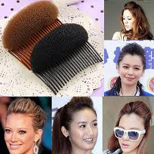 hair puff accessories hot fashion women sponge hair styling clip stick bun maker braid