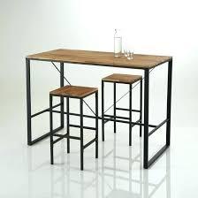 table haute avec tabouret pour cuisine table cuisine cdiscount table cuisine avec tabouret table cuisine