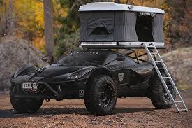 ferrari jeep ferrari laferrari off road camper edition hiconsumption 4x4