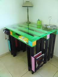 bureau coloré diy bricolage bureau bois coloré noir vert le poser assortie