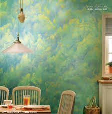 interior fantastic dining room decoration with green asian paint