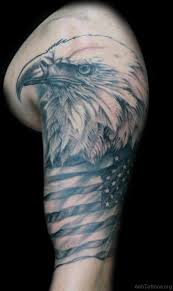 73 classic eagle tattoos on arm