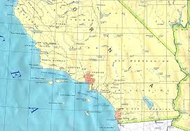 Arizona California Map by California Outline Maps And Map Links