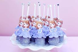 sofia cake pops sofia birthday party ideas