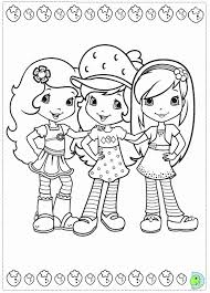 coloring pages strawberry shortcake coloring home