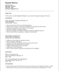 Best Resume Objectives Samples by Generic Resume Objective Berathen Com