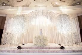 wedding backdrop kl a magical white on white wedding at grand hyatt photo story