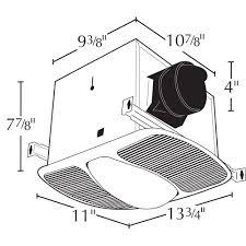 Bath Fan With Light Air King Ak863l Deluxe Bath Fan With Light And Night Light Round