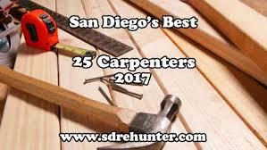 san diego s best 25 carpenter companies in 2017