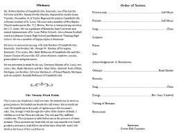 Funeral Programs Order Of Service Funeral Program Format Printable Funeral Programs Simple Funeral