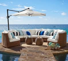 Indoor And Outdoor Furniture by Sunbrella Solid Indoor Outdoor Pillow Pottery Barn