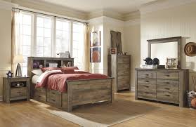 timberline king size poster bedroom set w underbed storage by ashley furniture home elegance usa bedroom sets with drawers under bed home design ideas