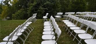 Renting Folding Chairs Chair Rental Cincinnati A Gogo Chair Rentals