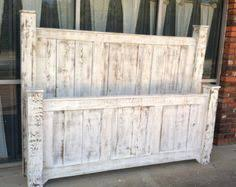 Wooden King Size Headboard by Rustic King Headboard Queen Headboard In Vintage Designed Barn