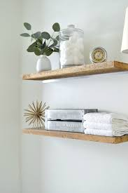 Floating Shelves For Bathroom by Diy Faux Floating Shelves