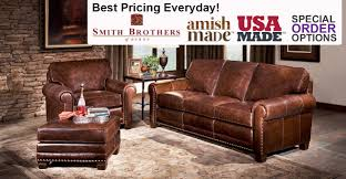 Living Room Furniture Made Usa Heavy Duty Biltrite Furniture Leather Mattresses