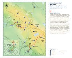 Montana State Map Mount Beacon Park Scenic Hudson