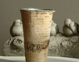 Birch Bark Vases Birch Bark Vases Wood Boxes Birch Vase Wedding Flower Pot