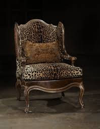 Animal Print Dining Room Chairs Cheetah Print Chair Home Chair Decoration