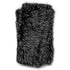 Faux Fur Throw Black And White Faux Fur Throw Blanket Woodwaves