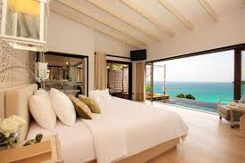 natural modern design luxurious bedrooms with wooden floor with