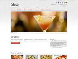 web design templates restaurant website design templates