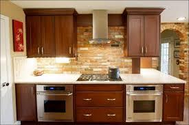 Brick Tile Backsplash Kitchen Kitchen Faux Brick Backsplash In Kitchen White Brick Tile