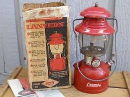lighting a coleman lantern buy 1968 vintage red coleman lantern model 200a dual mantle whitegas