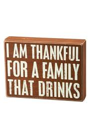 primitives by kathy thankful for a family that drinks box sign