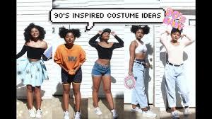 easy halloween costume ideas 90 u0027s inspired youtube