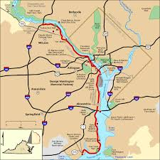 americas byways george washington memorial parkway map america s byways