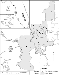Map Of Sinkholes In Florida by Sinkhole Distribution In A Rapidly Developing Urban Environment