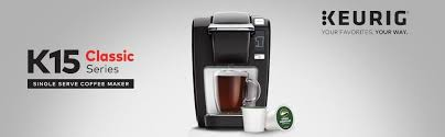 keurig coffee maker black friday amazon com keurig k15 single serve compact k cup pod coffee maker