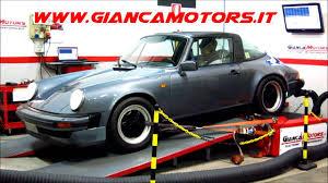Porsche 911 Vintage - gianca motors porsche 911 3 0 sc 204 cv targa 1983 dyno test
