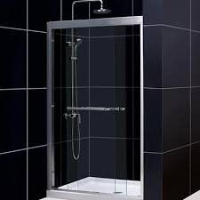 glass bath shower doors showers u0026 shower doors at the home depot