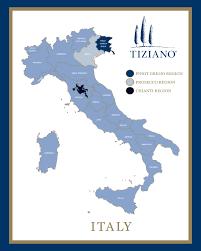 Map Of Italy Wine Regions by Wine Regions Of Italy Italian Wine Region Map Tizianowine Com
