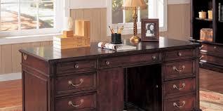 idabel dark brown wood modern desk with glass top eye catching ideas long l shaped desk noteworthy 5 ft computer
