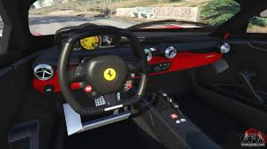 ferrari j50 interior ferrari fxx k 2015 v1 1 for gta 5