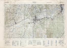 New Mexico Topographic Map by Dubuque Ia U20141959 Map From The Usgs Historical Topographic Map