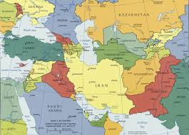 Eurasia Map Caucasus And Central Asia Map