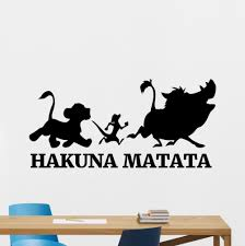 aliexpress com buy hakula mata tower lion king cartoon vinyl