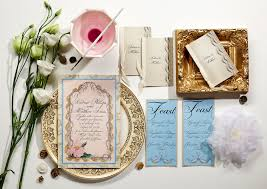 painted swirls wedding invitations momental designsmomental designs