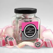 candy wedding favors personalised wedding favour rock candy roc candy wedding