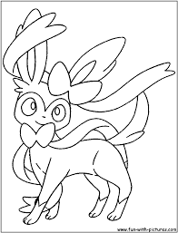 lovely drawing hello kitty colouring pages 10 sylveon pokemon